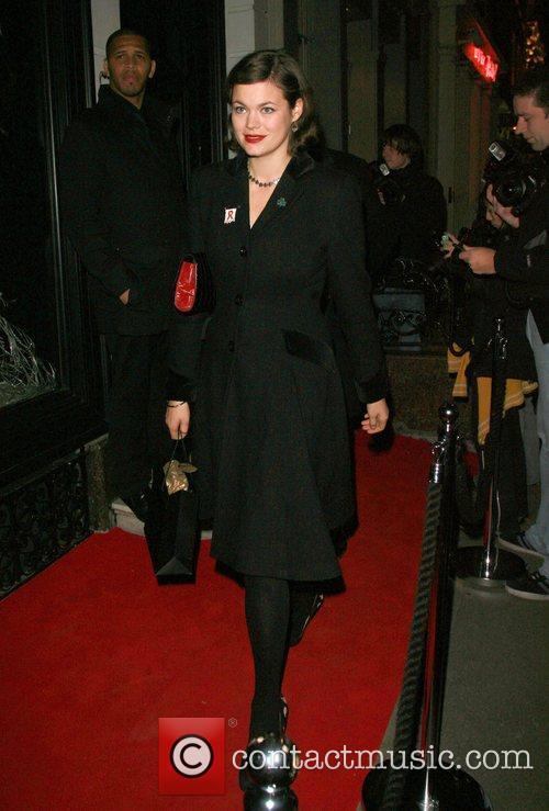 Sharon Osbourne's Christmas Party at Donna Karan shop