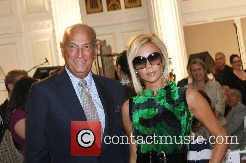 Oscar De La Renta and Victoria Beckham 3
