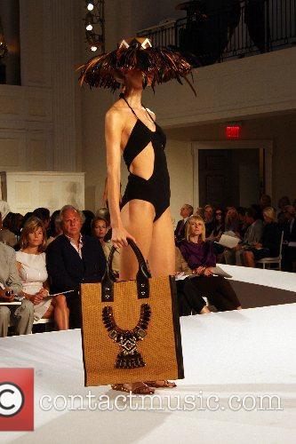 Model Mercedes-Benz Fashion Week New York Spring 2008...
