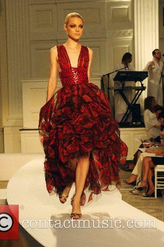 Jessica Stam Mercedes-Benz Fashion Week New York Spring...