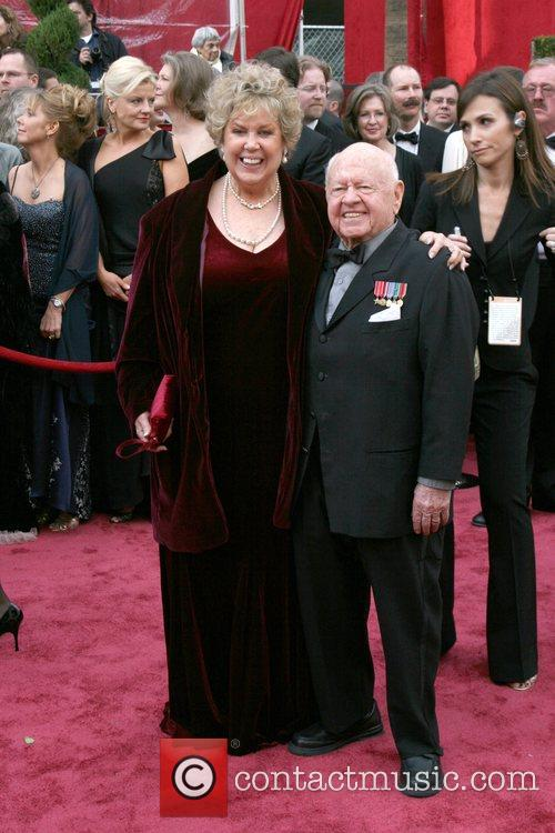 Mickey Rooney and his wife Jan Rooney The...