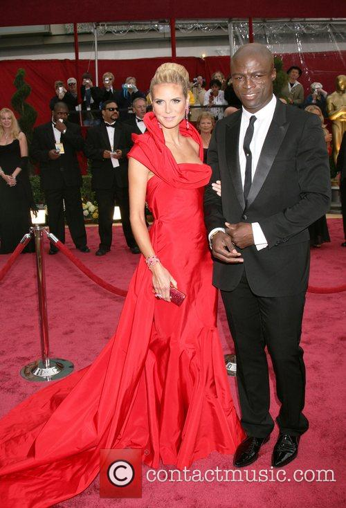 Heidi Klum, Seal, The Oscars 2008, Academy Of Motion Pictures And Sciences