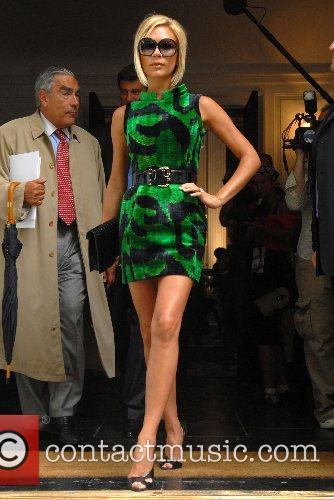 Victoria Beckham Mercedes-Benz Fashion Week New York Spring...