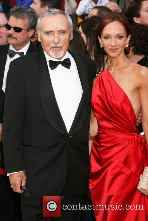 Dennis Hopper and wife Victoria Duffy The 80th...
