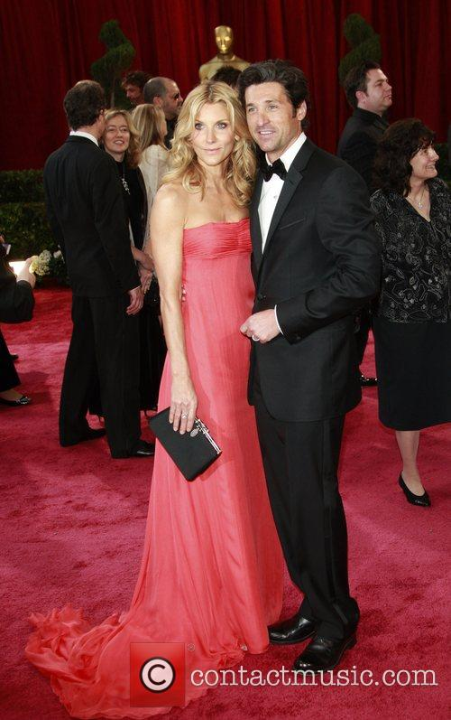 Patrick Dempsey and wife Jillian Fink Dempsey The...