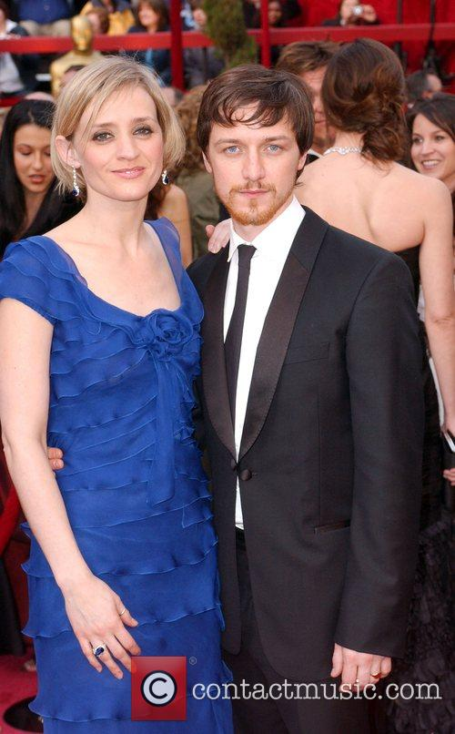 James McAvoy and wife Anne-Marie Duff The 80th...