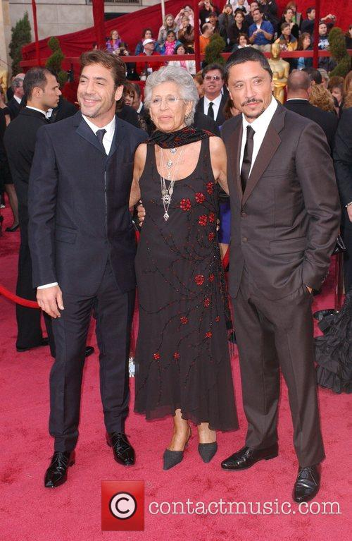 Javier Bardem and guests The 80th Annual Academy...
