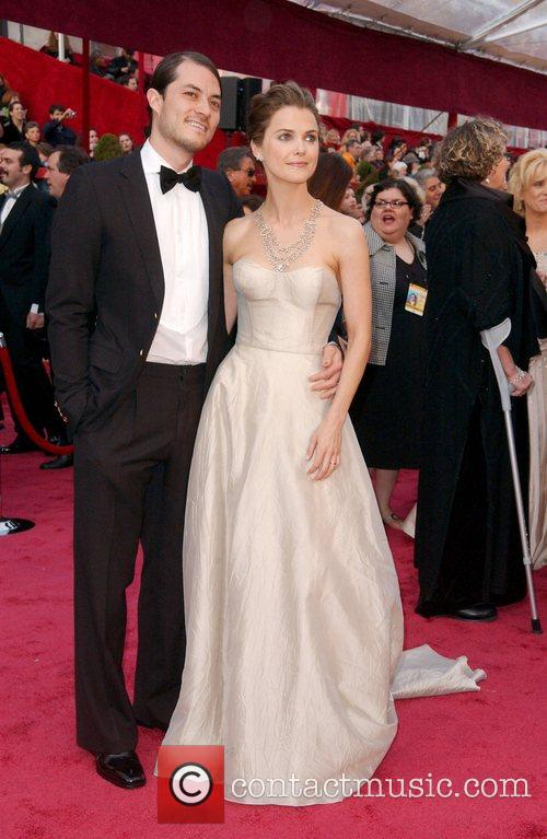 Keri Russell and Shane Deary at the Oscars