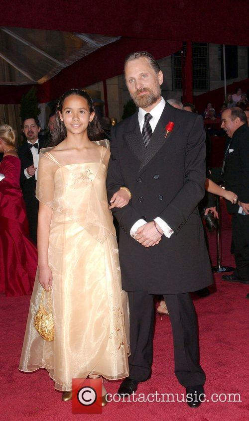 Viggo Mortensen and guest The 80th Annual Academy...