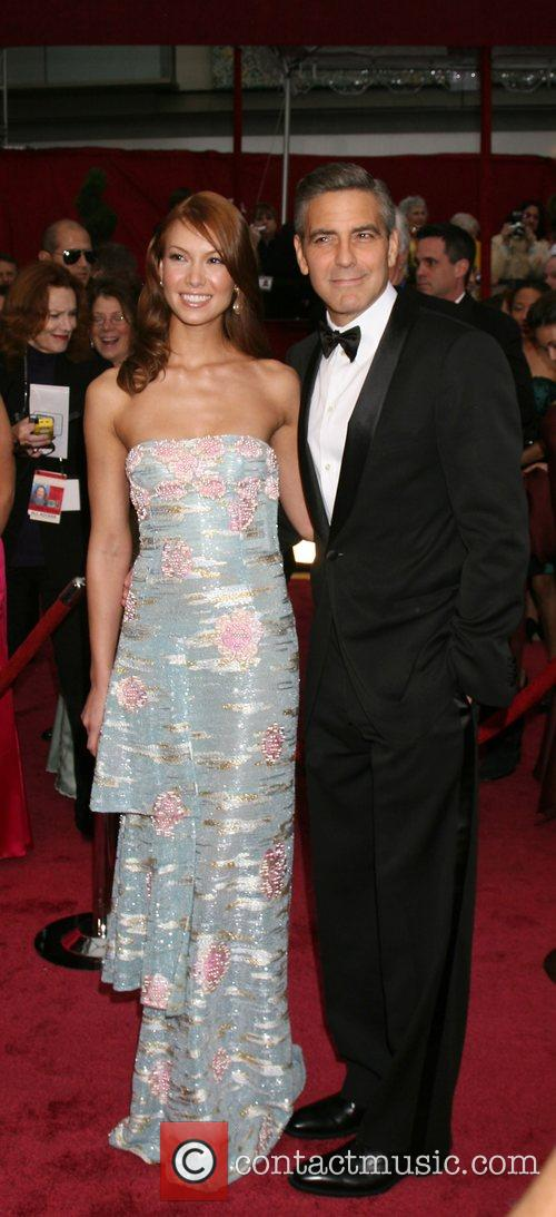 George Clooney and Sarah Larson 8
