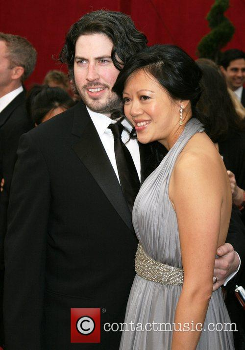 Jason Reitman and Guest The 80th Annual Academy...