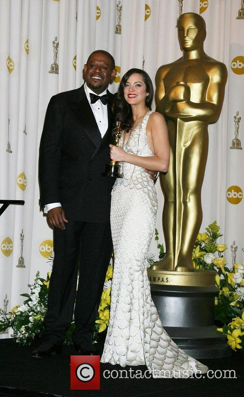 Marion Cotillard and Forrest Whitaker 1