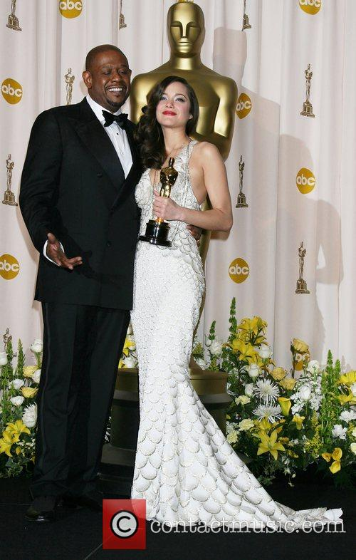 Marion Cotillard and Forrest Whitaker 5