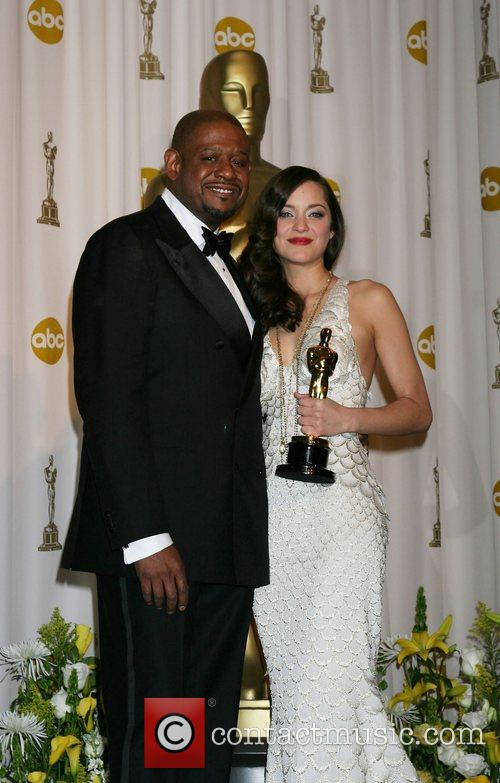 Marion Cotillard and Forrest Whitaker 2