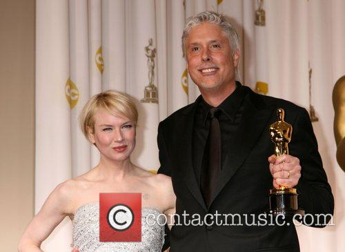 Renee Zellweger and Christopher Rouse The 80th Annual...