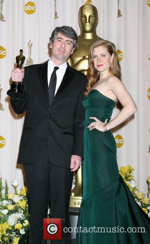 Amy Adams and Dario Marianelli The 80th Annual...