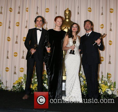 Daniel Day Lewis, Marion Cotillard and Tilda Swinton 3