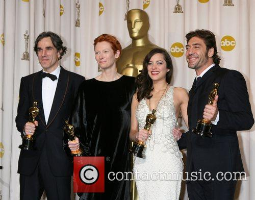 Daniel Day Lewis, Marion Cotillard and Tilda Swinton 2