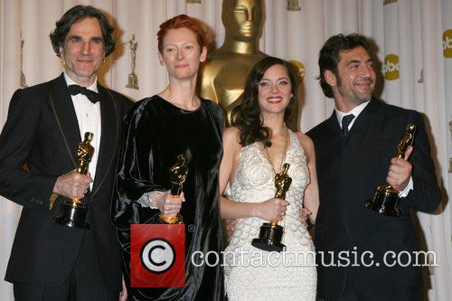 Daniel Day Lewis, Marion Cotillard and Tilda Swinton 4