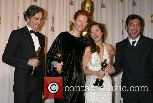 Daniel Day Lewis, Marion Cotillard and Tilda Swinton