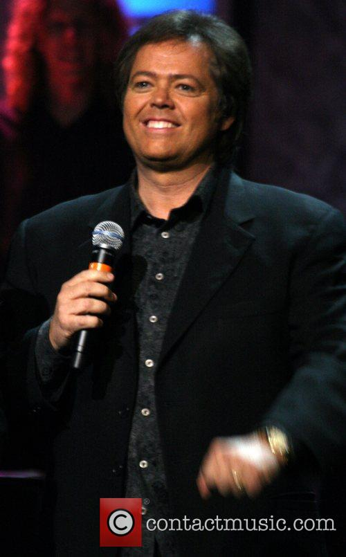 Jimmy Osmond The Osmonds performing on the