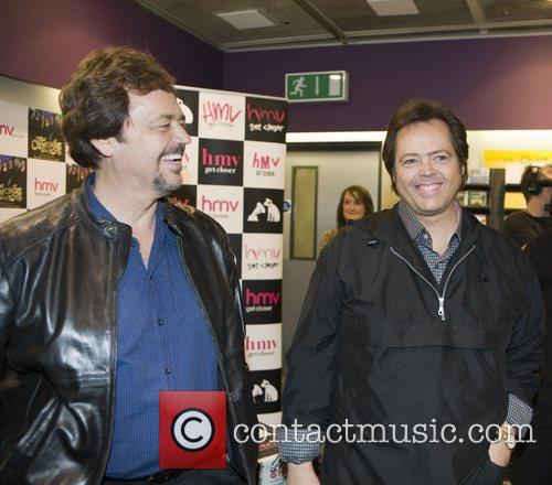 Jay Osmond and Jimmy Osmond The Osmonds sign...