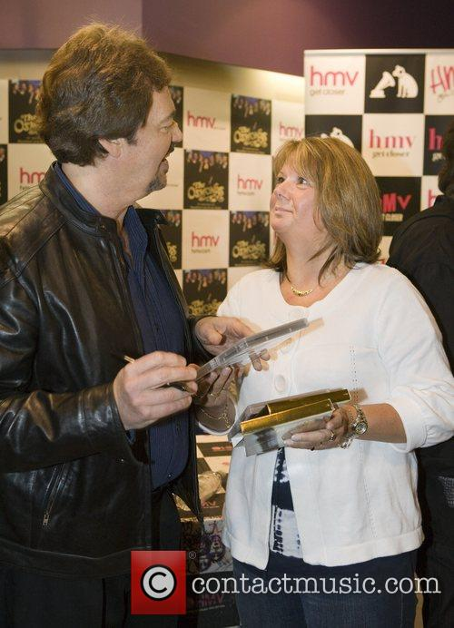 Jay Osmond The Osmonds sign copies of their...