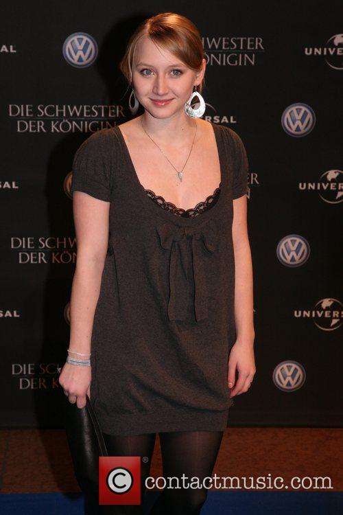 Anna Maria Muehe The Other Boleyn Girl aftershow...