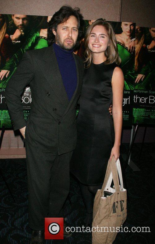 David Lauren and Lauren Bush attends a private...