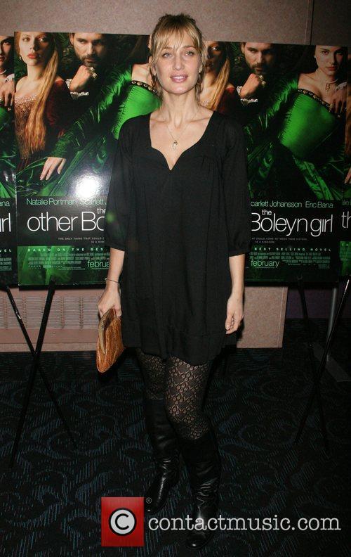 Manon von Gerkan attends a private screening of...