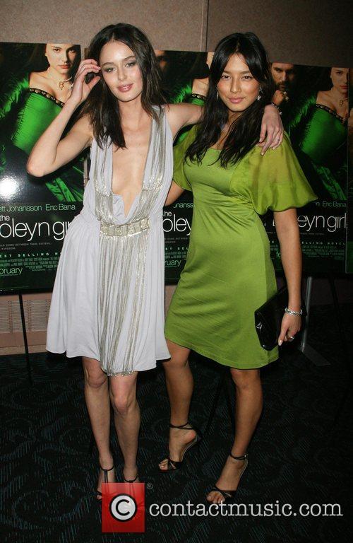 Nicole Trunfio and Jessica Gomes attends a private...