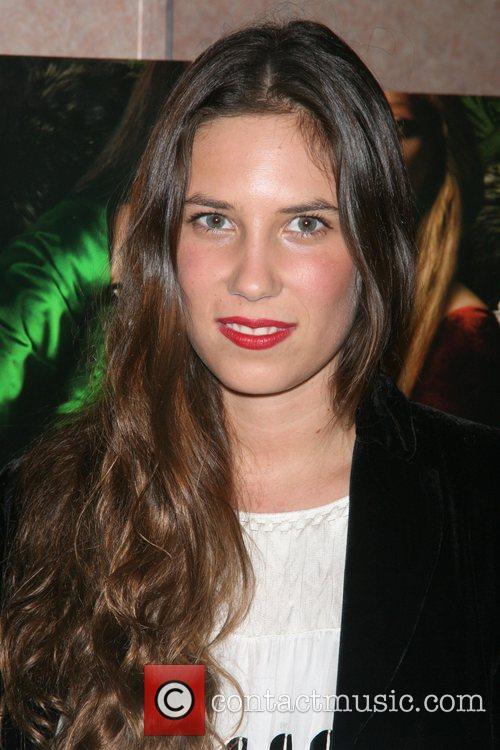 Tatiana Santo Domingo attends a private screening of...