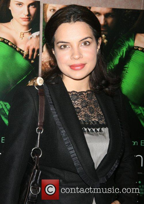 Zuleikha Robinson attends a private screening of 'The...