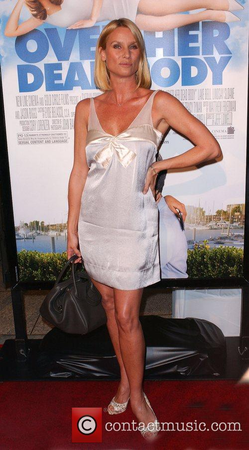 Nicollette Sheridan Los Angeles film premiere of 'Over...