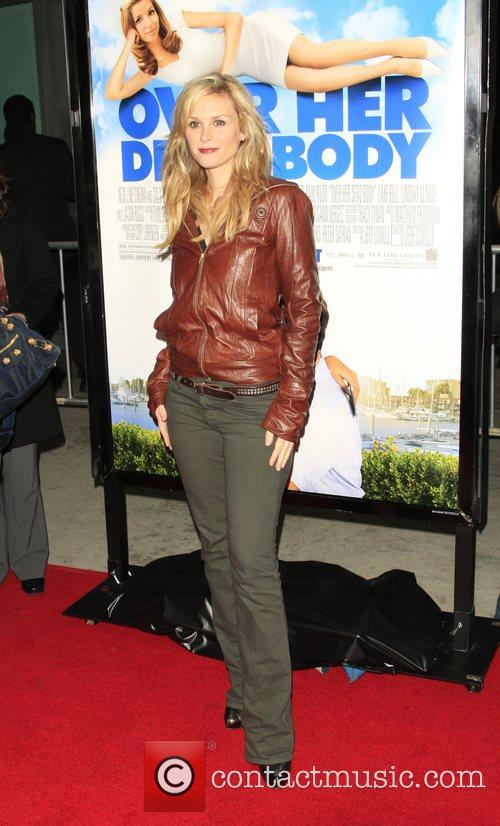 Bonnie Somerville Los Angeles film premiere of 'Over...