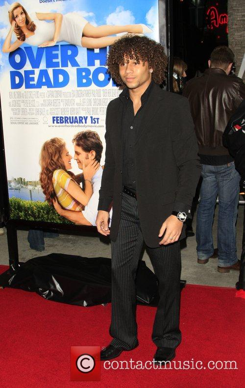 Corbin Bleu Los Angeles film premiere of 'Over...