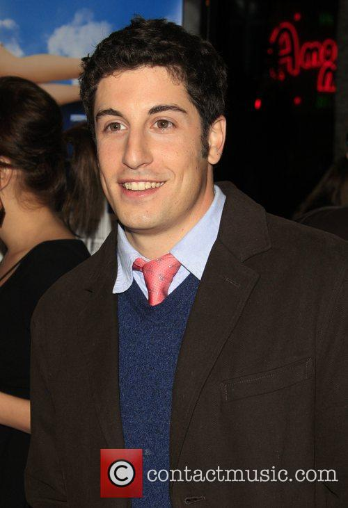Jason Biggs Los Angeles film premiere of 'Over...