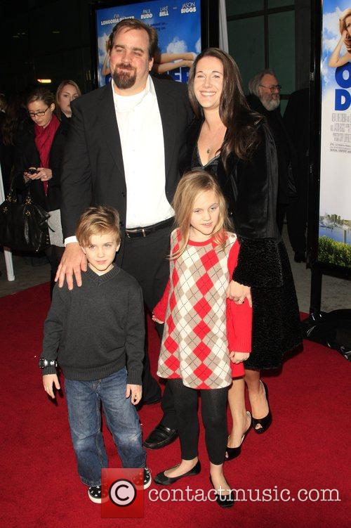 Jeff Lowell and Family Los Angeles film premiere...