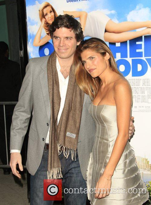 Lake Bell and Guest Los Angeles film premiere...