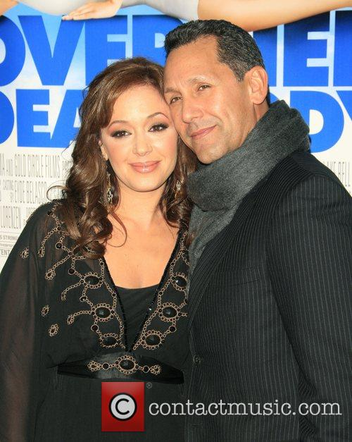 Leah Remini and Angelo Pagan Los Angeles film...
