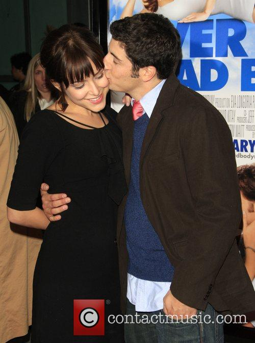 Lindsay Zir and Jason Biggs  Los Angeles...
