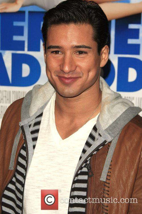 Mario Lopez Los Angeles film premiere of 'Over...