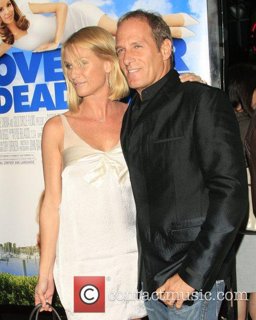 Nicollette Sheridan and Michael Bolton Los Angeles film...