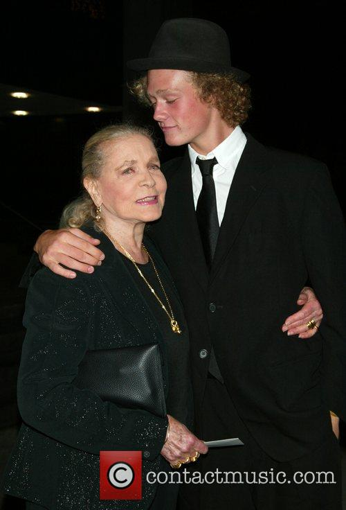 Lauren Bacall and Her Grandson Jasper Robards 6