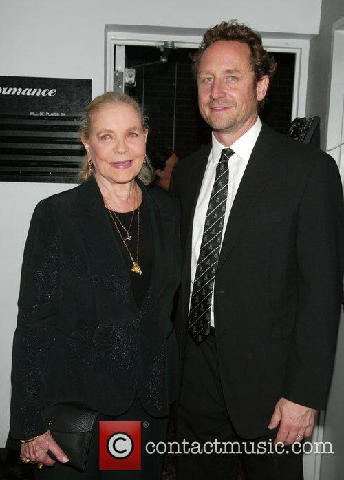 Lauren Bacall and Her Son Sam Robards 2