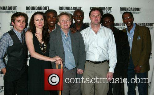 Opening night of the Roundabout Theater Off-Broadway production...
