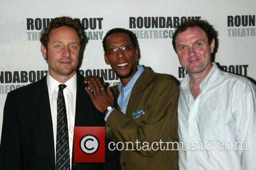 Sam Robards, Ron Cephas Jones and Boris Mcgiver 6