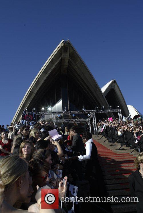 Atmosphere Australian Idol 2007 Grand Final held at...