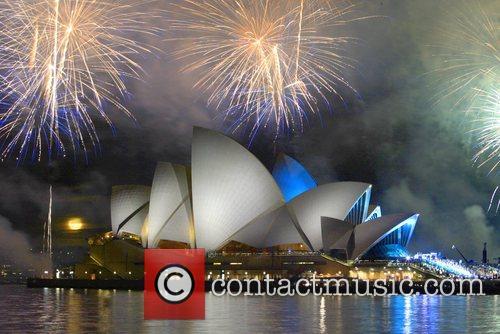 Fireworks show Australian Idol 2007 Grand Final held...