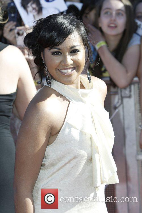 Jessica Mauboy of the Young Divas Australian Idol...